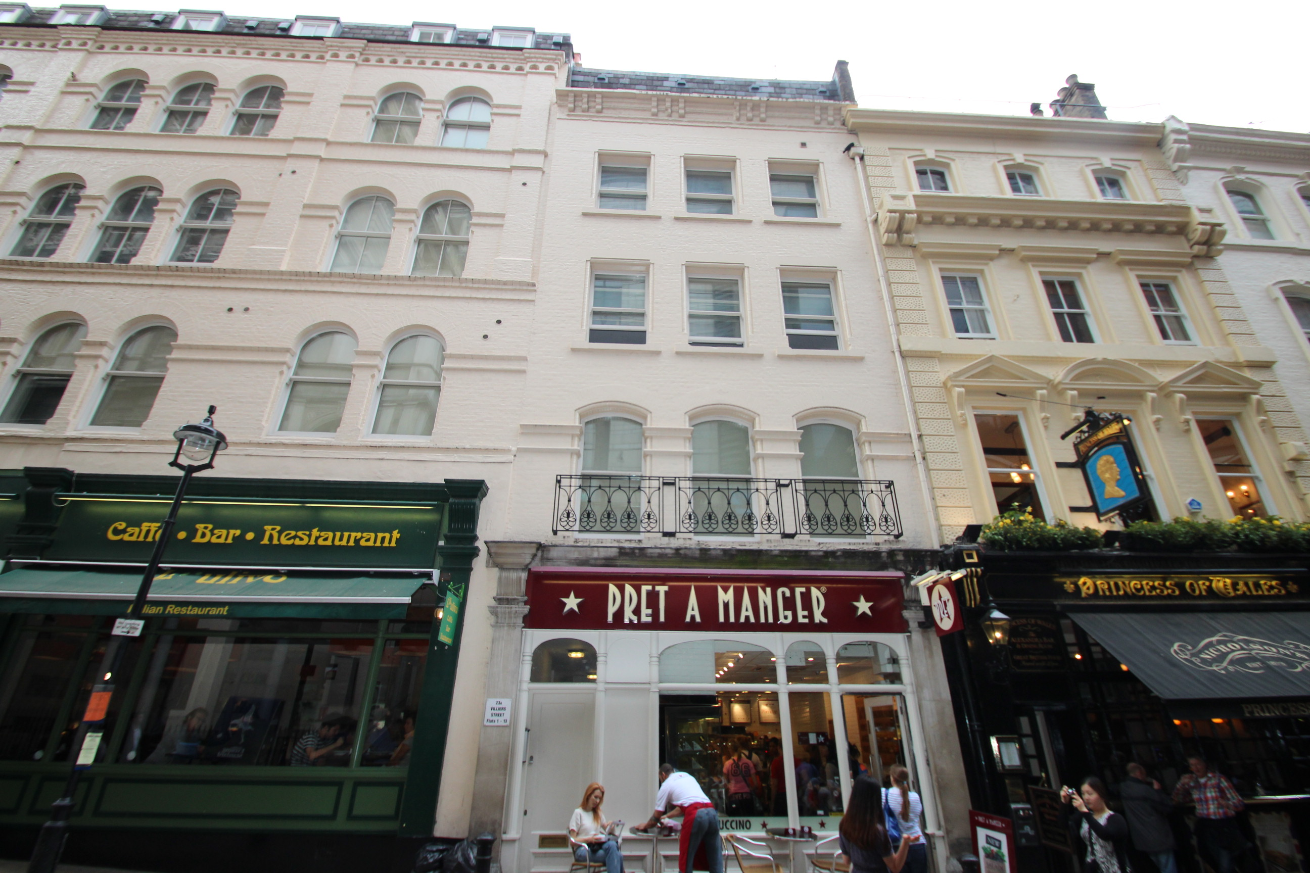 Villiers Street, London, WC2