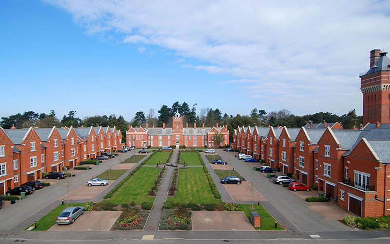 West Hall, Napsbury
